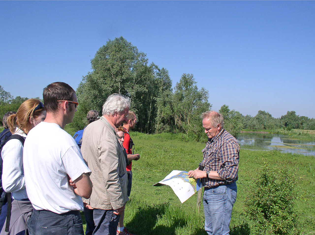 Johan Bekhuis of Ark introduces the Gelderse Poort wood pasture